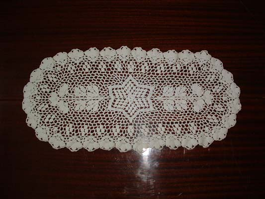 Chemin de table 2 for Chemin de table crochet